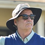Bill Murray throws club at Pebble Beach's historic par-3 seventh
