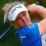 Brooke Henderson increases driving distance with longer shaft