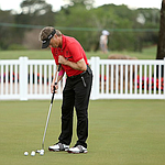 Langer leads thanks to good putting at the Chubb Classic