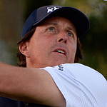 Mickelson in contention after 65 at Monterey Peninsula