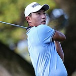 Kang soaks in celebrity experience at Pebble as he goes for first PGA Tour win