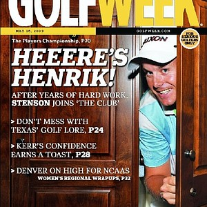 Henrik Stenson wins The Players Championship. Cover of Golfweek Magazine - May 16, 2009