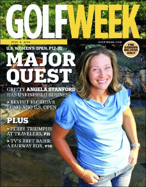 Angela Stanford feature – U.S. Women's Open preview (July 4, 2009)