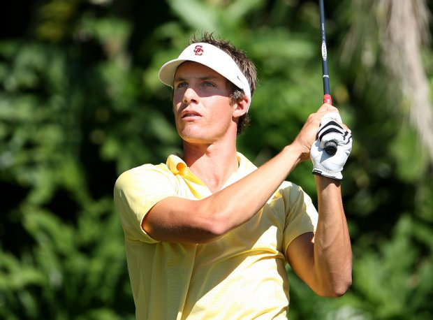 University of Southern California's Jamie Lovemark during the Isleworth-UCF Collegiate Invitational at Isleworth Golf and Country Club.