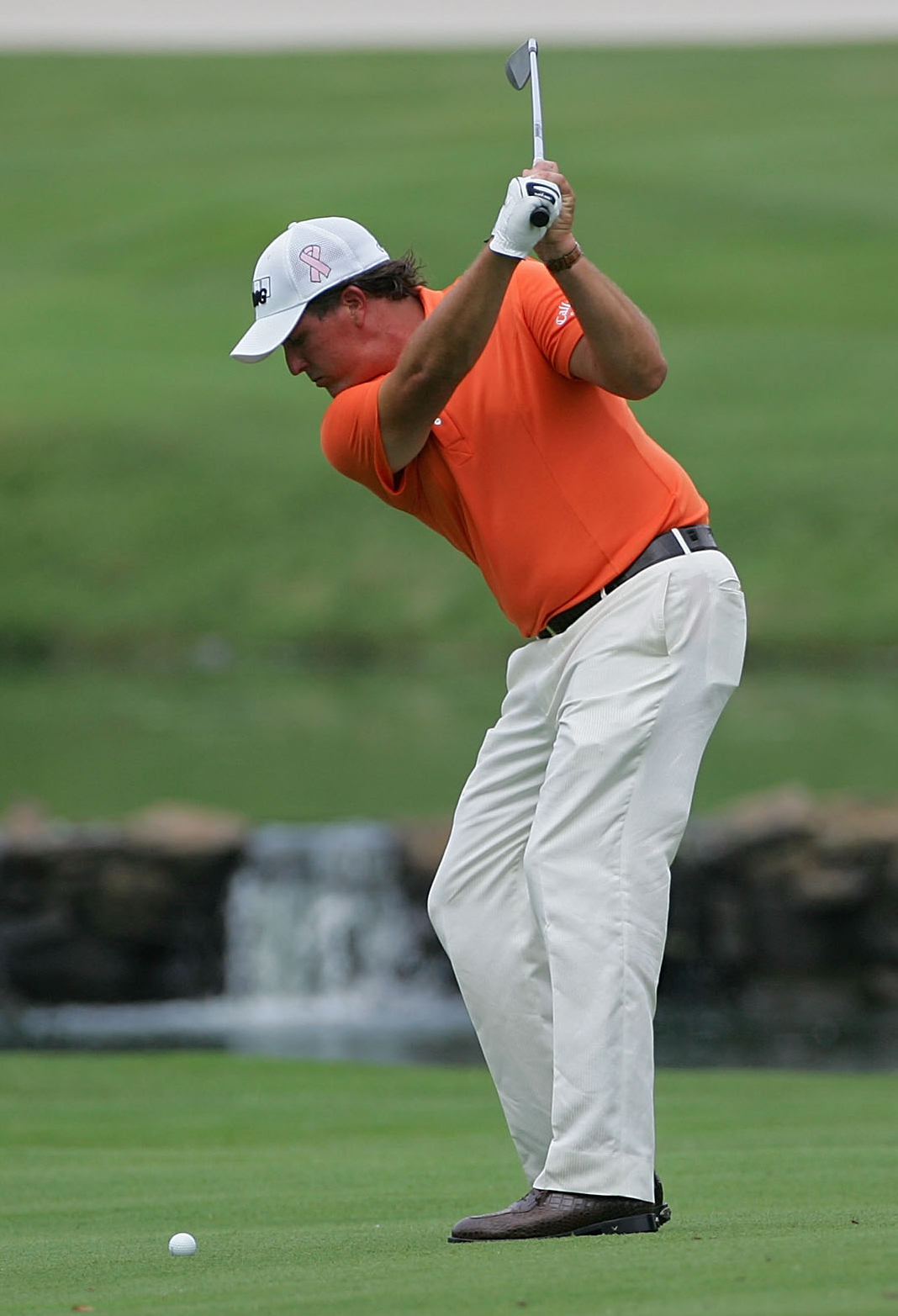 """The star this week is Phil Mickelson,"" said John Senden, who shot a 66."