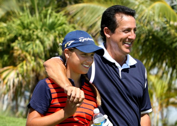 """""""I just loved golf ever since I was little – seeing the alligators, watching the water,"""" she said."""