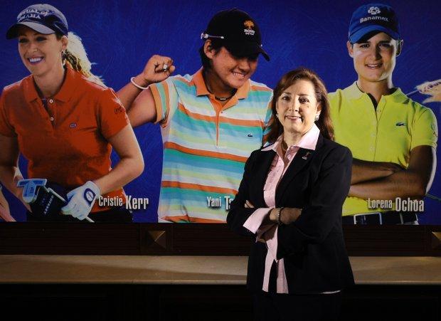 Former LPGA Commissioner Carolyn Bivens