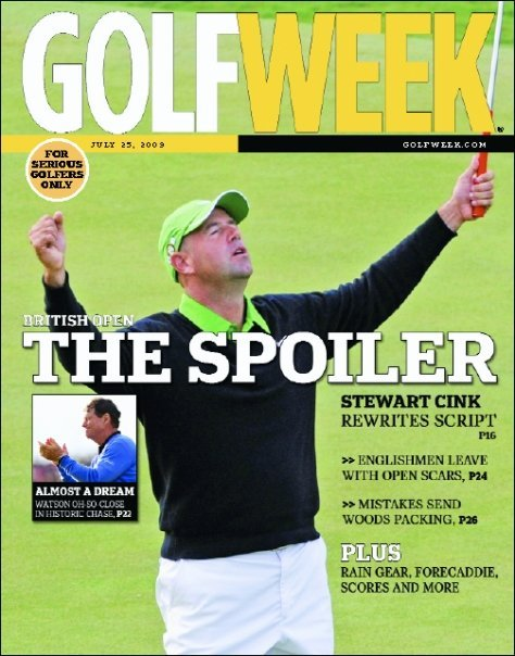Stewart Cink wins British Open (July 25, 2009)