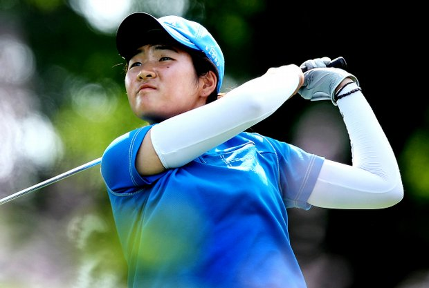 """Koreans think this is the best amateur tournament,"" Han Jungeun said."