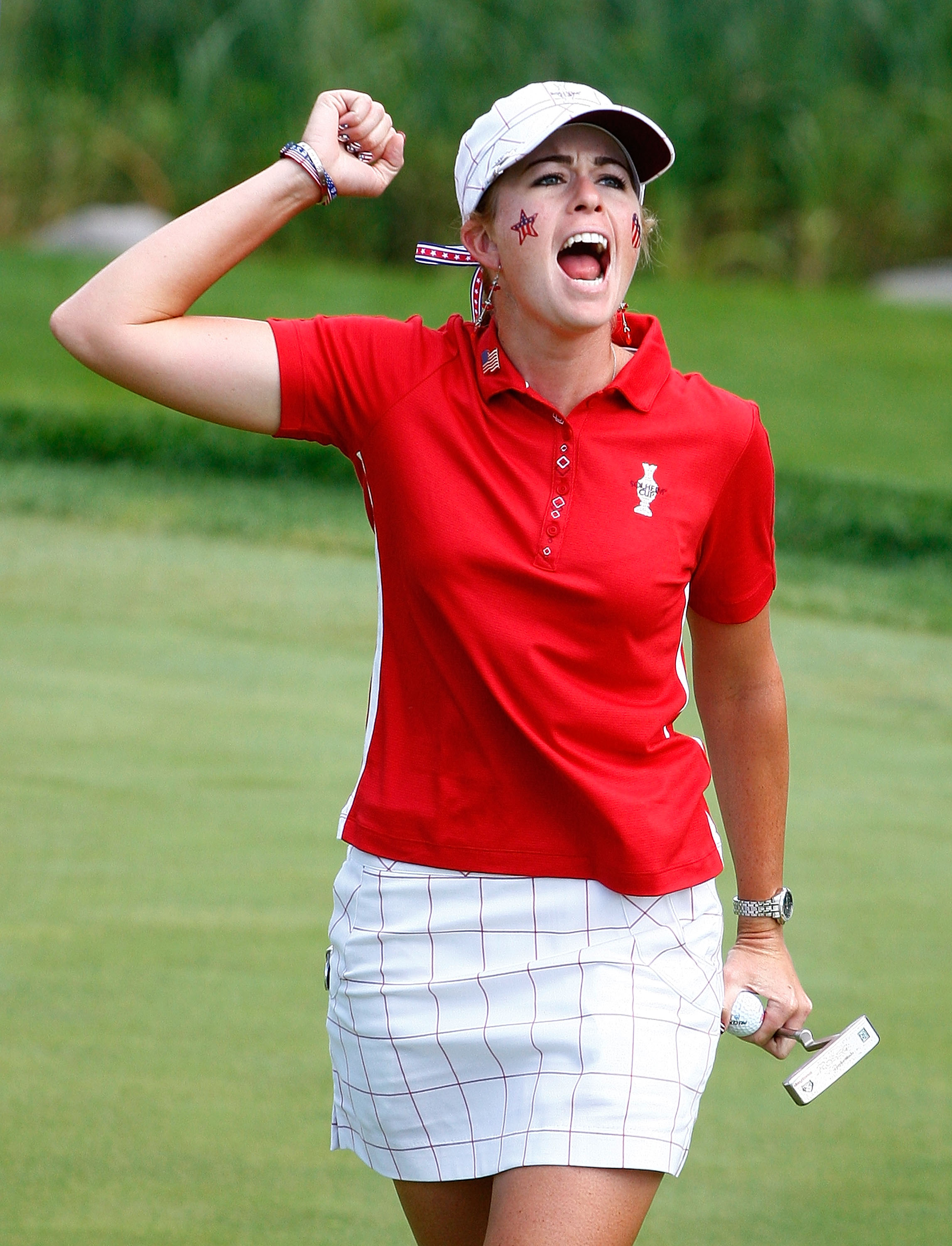 Paula Creamer went 3-1 at the Solheim Cup.