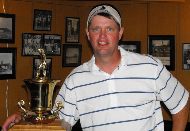 Bill Dunn won the Montana State Amateur by one in July at Butte Country Club.