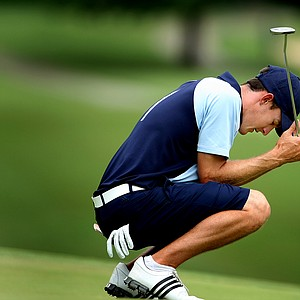 Connor Driscoll loses to Peter Uihlein during Thursday's Round of 32.