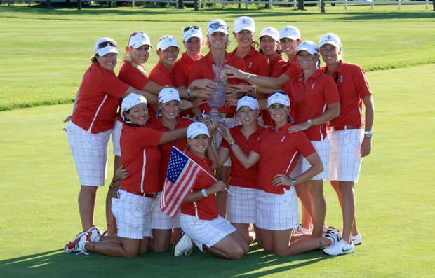 The U.S. didn't just win the Solheim Cup, but won the award for best-dressed team as well!