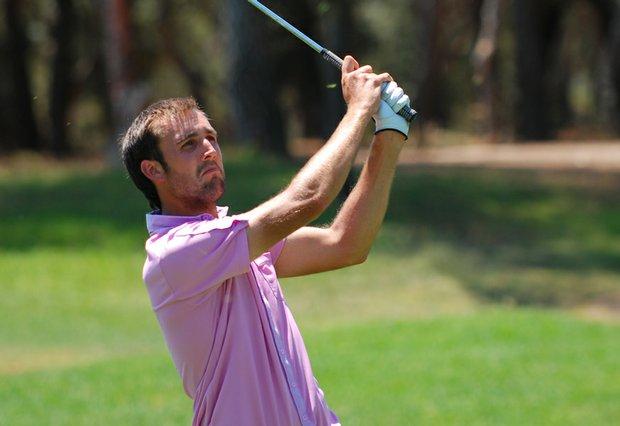 Steve Lewton hopes to play on the European Tour in the near future.