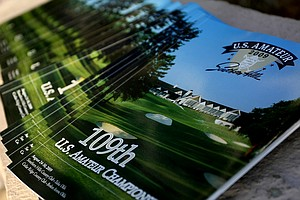 The program from the 2009 U.S. Amateur Championship at Southern Hills Country Club.