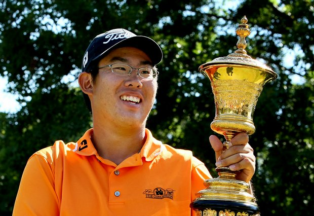 Byeong-Hun An supplants Danny Lee as the youngest U.S. Amateur champion.