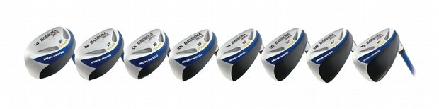 Tour Edge: Bazooka JMAX Draw Iron-Wood set