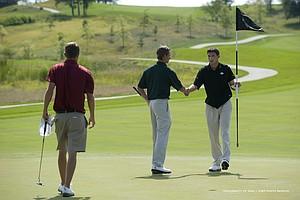 Iowa's Brad Hopfinger ties for medalist at Golfweek's Conference Challenge.