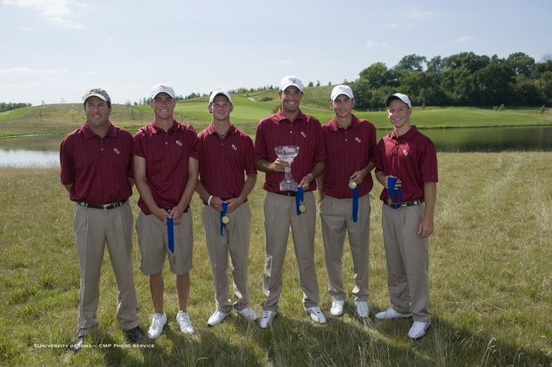 Florida State wins the first event of the 2009-10 season, Golfweek's Conference Challenge.