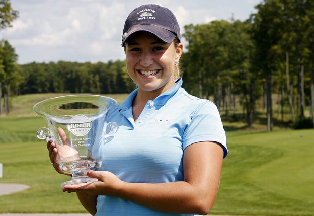 Chelsea Pezzola won the Golfweek Junior Series event at the Treetops Resort Tradition Course.
