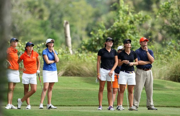 University of Virginia, University of Florida, Louisiana State University and Auburn wait on No. 12.