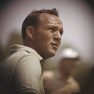 Arnold Palmer during the Lucky International Ppen in 1962 at San Francisco's Harding Park.
