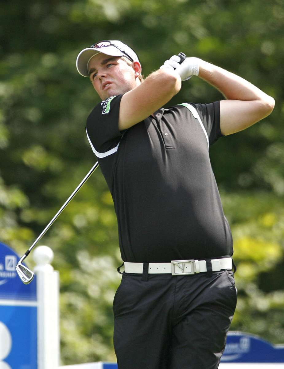 Marc Leishman finished T-15 at Deutsche Bank to earn at spot at BMW.