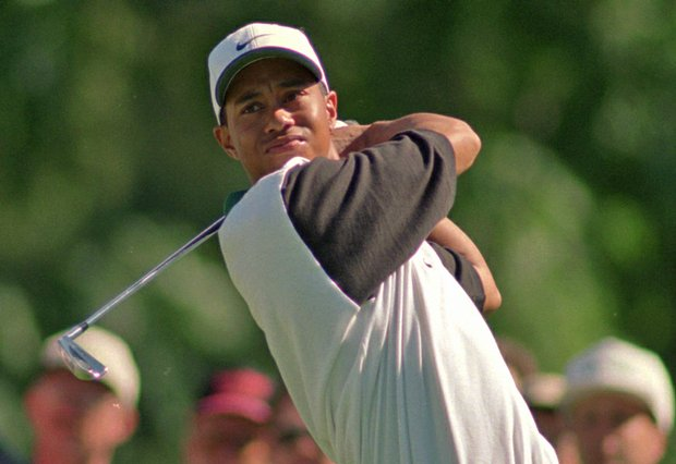 Tiger Woods used Mizuno forged irons to win his first professional title.