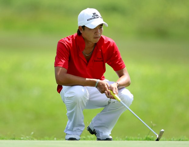 Yu-Te Kao at No. 11 on the International course.