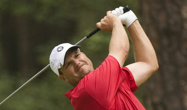 Skip Berkmeyer won the 2009 Crump Cup with a birdie on the 18th hole.