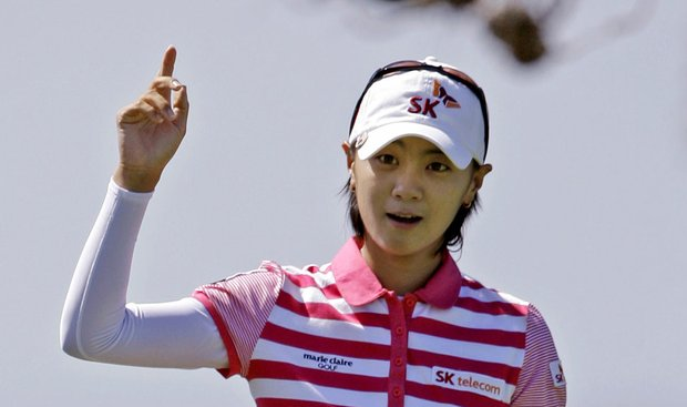 Na Yeon Choi won the Samsung World Championship Sunday for her first LPGA Tour victory.