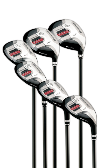 WIlson FYbrid HS fairway utilities.