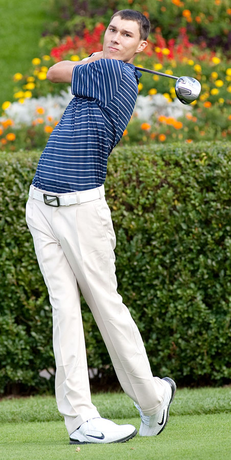 UConn sophomore Jeb Buchanan won the individual title at the Adams Cup.
