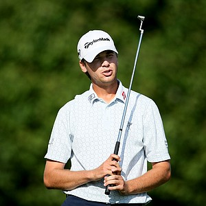 Sean O'Hair during the final round of the Tour Championship.