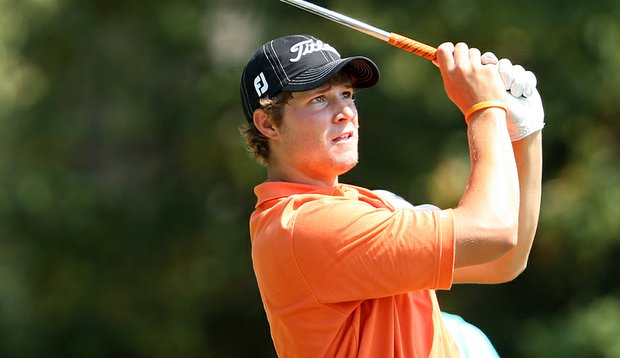 Peter Uihlein, pictured here at the 2008 U.S. Amateur, won the Ping/Golfweek Invitational Sept. 28 at Gold Mountain Golf Complex in Bremerton, Wash.