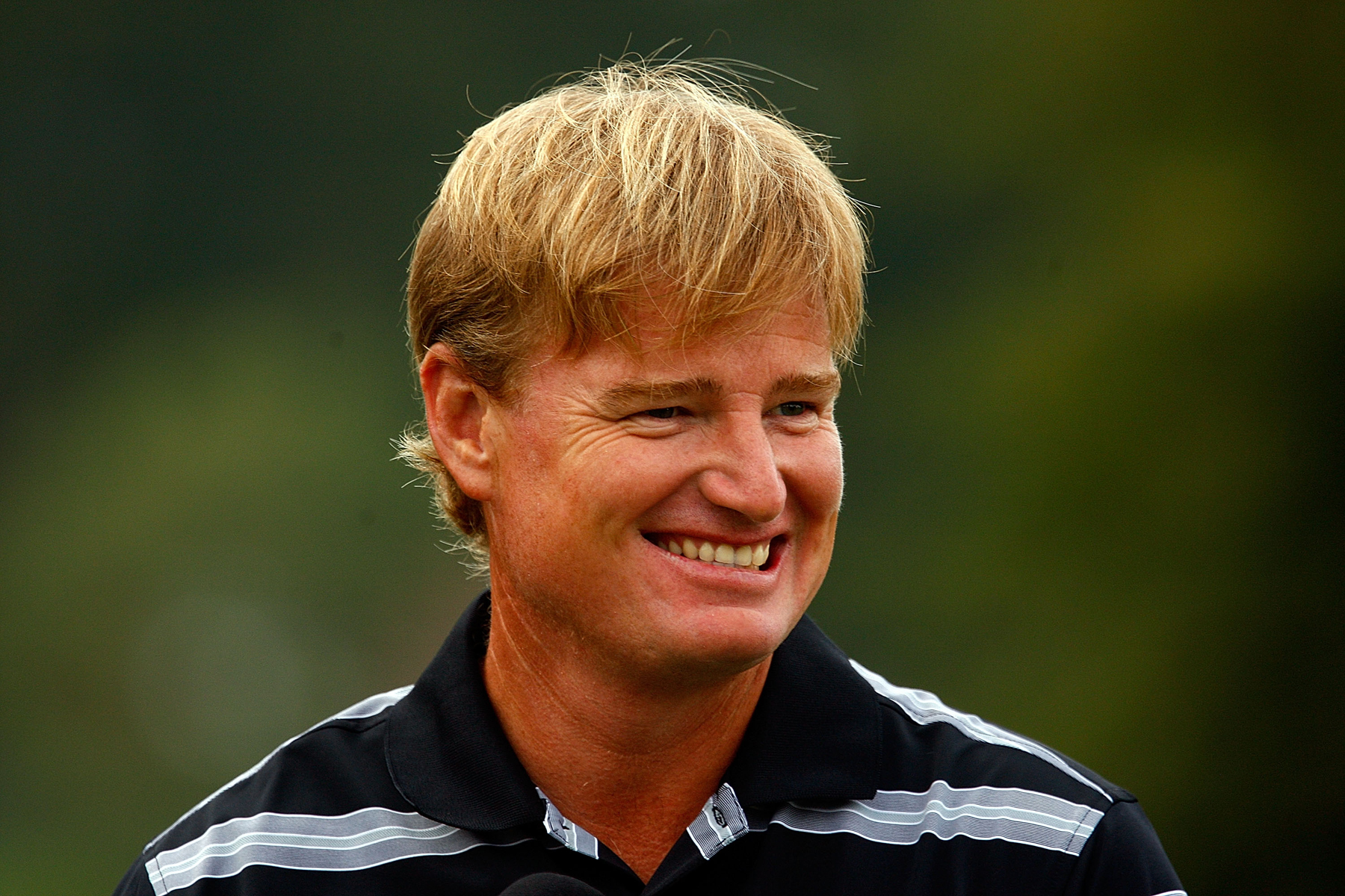 Ernie Els, seen here at the 2009 Tour Championship.