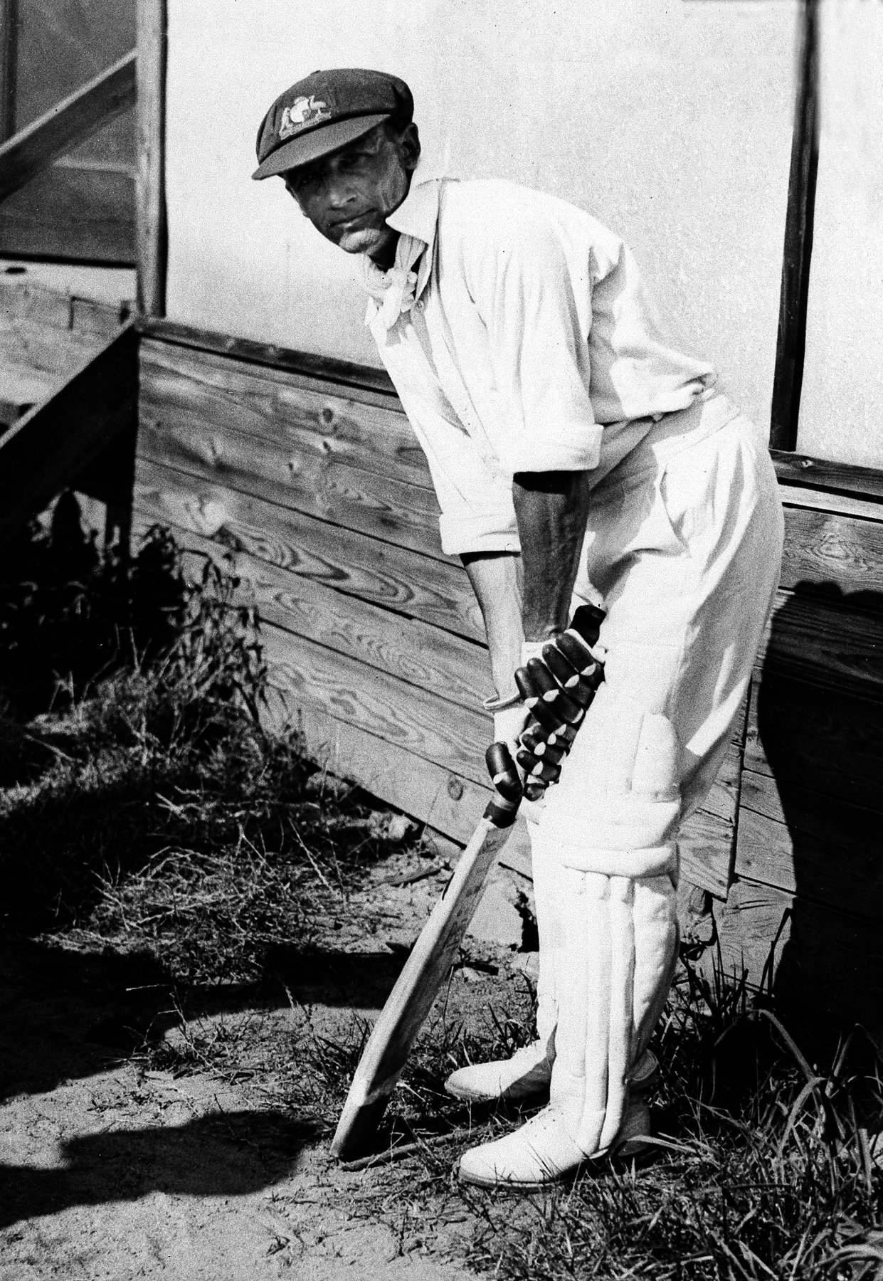 Australian cricket team member Donald Bradman in July 1932.