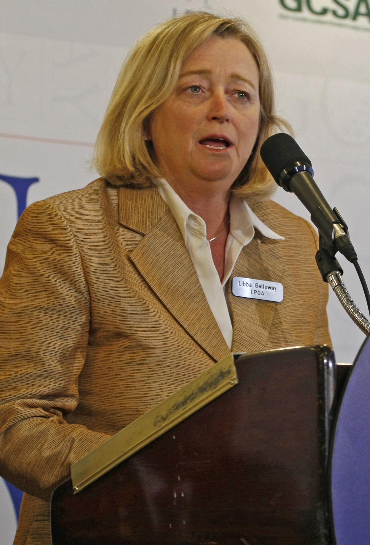 LPGA deputy commissioner Libba Galloway.