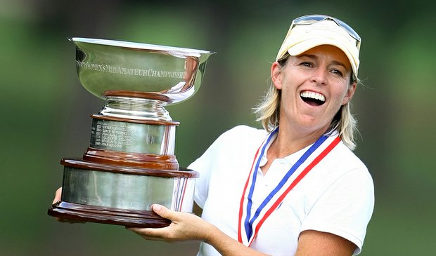 Martha Leach topped Laura Coble, 3 and 2, to win the U.S. Women's Mid-Amateur on Oct. 8.