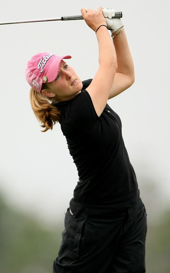 Anna Grzebien at LPGA Q-School in 2008.