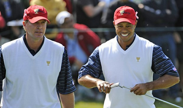 Alongside Steve Stricker, Tiger Woods has been unstoppable at the Presidents Cup.