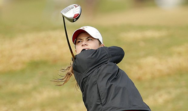 Rachel Morris shot 74 Oct. 10 to take the first-round lead at the Ping Invitational.