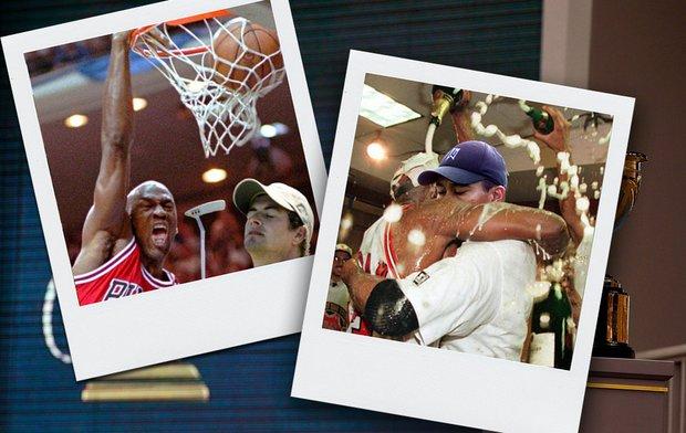 Looks like Michael Jordan had fun at the Presidents Cup.
