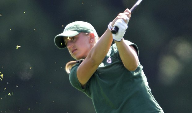 Michigan State senior Laura Kueny tied for second at the Tar Heel Invitational.