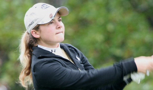 Rachel Morris topped Rolex Player of the Year Victoria Tanco in a playoff to win the Ping Invitational.