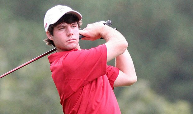 Alabama sophomore Hunter Hamrick won the rain-shortened Jerry Pate National Intercollegiate on Oct. 13.