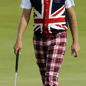 Ian Poulter at the 2009 British Open.