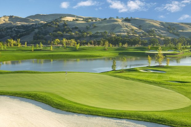 Holes No. 10 and 17 at Yocha Dehe GC in Brooks, Calif. Course ranked No. 31.