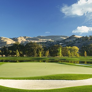 Hole No. 4 at Yocha Dehe GC in Brooks, California. Course ranked No. 31.