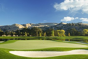 Hole No. 4 at Yocha Dehe GC in Brooks, California. Course ranked No. 31.